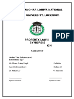 Property Law II Synopsis