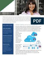 Microsoft Identity Manager 2016 Datasheet