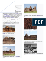 Architecture of Pallavas and Chalukyas