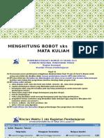 Menghitung BOBOT SKS