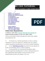 Adobe Cq5 Interview