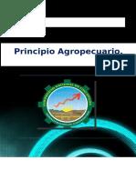 Monografia Principio Agropecuario - Ganados Mayores y Menores