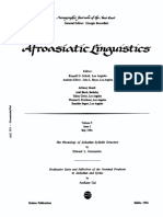 Greenstein - The Phonology of Akkadian Syllable Structure (1984)
