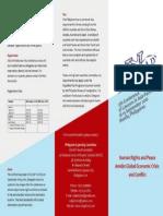 Colap General Information Brochure