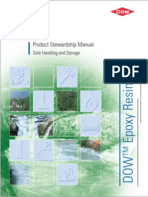 Epoxy Resins Product Stewardship Manual | Epoxy | Dow