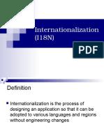 Intern at i o Nationalization