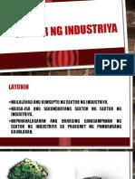 Sektor Ng Industriya