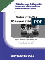 Manual Didactico de Bolas Criollas