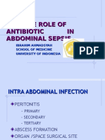AB in Abdominal Sepsis-Ibrahim.A