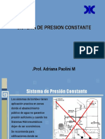 Sistema de Presión Constante Octubre 2016