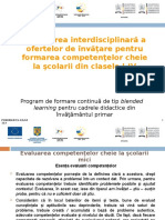 Evaluarea Competenţelor Cheie La Şcolarii Mici (1)