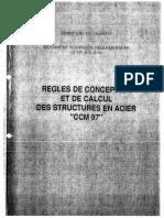 CCMA97-Regles Structures Acier