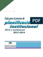 Metodología planificación -Sistema Nacional de Planificación