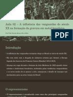 A Influência Das Vanguardas Do Século XX Na Formação Da Gravura Em Metal Brasileira