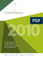Corporate Citizenship Report2011