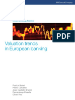 Valuation Trends in European Banking (1)