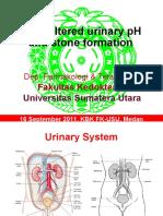 K24.3-FT Drug Altered Urinary PH