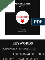 Art of Hellhole Script to Screen 2017