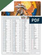 pokemon sun and moon card list