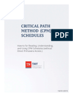 CPM Schedules How-To Manual
