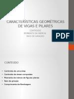 Aula 2 - Revisão Sobre Características Geométricas