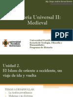 Unidad 2 El Islam de Oriente a Occidente