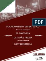 Brochure - Planeamiento estratégico de un restaurante