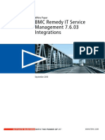 (White Paper) BMC Remedy IT Service Management 7.6.03 Integrations.pdf