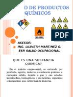 Manejo de Productos Quimicos y Msds 2014