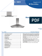 Electrolux (FG) - Coifa - 60CX, 90CX, 90CV - (MS) R3 Ago10