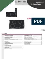 Electrolux (FG) - Cooktop de Inducao - IC60, IC80 - (MS) R0 Ago11