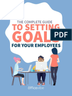 Guide to Setting Goals for Employees