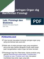14. Interelasi Jaringan-Organ Sbg Manifestasi Fisiologi