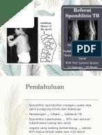 Ppt Referat Spondilitis TB