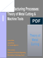 Theory of Metal Cutting 1x1