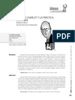 B. Charlot y La Práctica Del Saber.