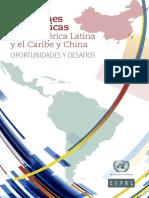 Relaciones económicas entre América Latina y el Caribe y China OPORTUNIDADES Y DESAFÍOS
