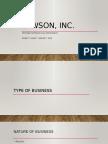 CSR for Lawson Company (Corporate Governance)