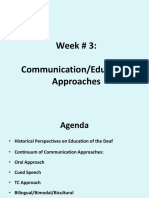 lecture 3- communication approaches
