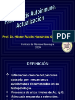 3 Pancreatitis Autoinmune. Sociedad