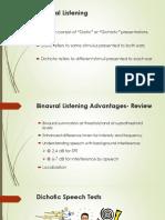 week 8b- dichotic and binaural listening tests