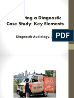 student class presentations- instructions- diagnostic audiology case examples