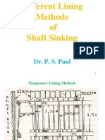 Diferent Lining and Spl_Shaft Sinking Methods 1