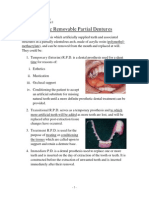 Removable Prosthodontics II - Acrylic Removable Partial Dentures - SIUST, College of Dentisty