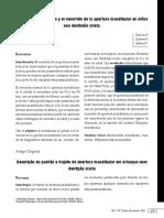 DESCRIPCION DEL PATRON Y EL  RECORRIDO DE LA APERTURA MANDIBULAR EN NIÑOS CON DENTICIÓN MIXTA.pdf