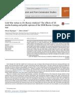 Communist and Post-Communist Studies Volume 46 issue 4 2013 [doi 10.1016%2Fj.postcomstud.2013.08.003] Bayulgen, Oksan; Arbatli, Ekim -- Cold War redux in US–Russia relations_ The effects of US media f.pdf