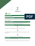 Taller Unidad 2 Optativas Cuentas Meducas