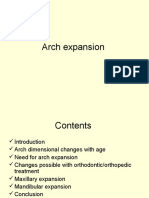 Arch Expansion