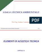Elementi Di Acustica Applicata - AUT. Cammarata G.