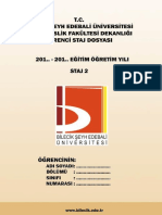 2017 Kemal Helvaci - Staj2 Defteri